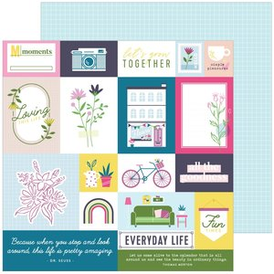 """Papel 12""""x12"""" Pinkfresh Noteworthy Right Now"""