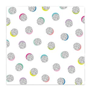 "Papel 8x8"" Color Me Happy Connet the Dots"
