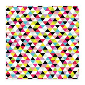 "Papel 8x8"" Color Me Happy Crazy Cool"