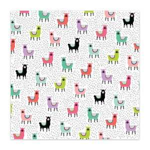 "Papel 8x8"" Color Me Happy Llama Jam"