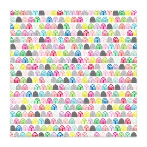 "Papel 8x8"" Color Me Happy Neat-O"
