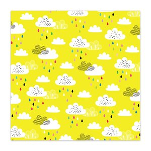 "Papel 8x8"" Color Me Happy No Rain No Rainbows"