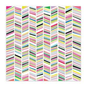 """Papel 8x8"""" Color Me Happy Rainbow Parade"""