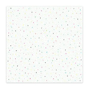 "Papel 8x8"" Color Me Happy Yummy Sprinkles"
