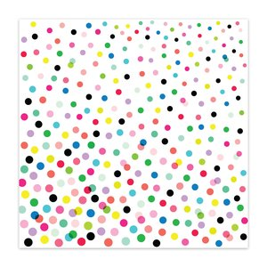 "Vellum 8x8"" Color Me Happy Funfetti"