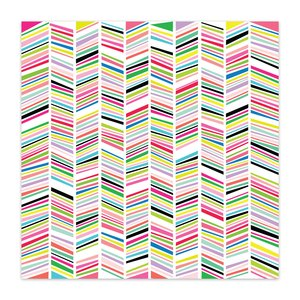 "Vellum 8x8"" Color Me Happy Rainbow Parade"