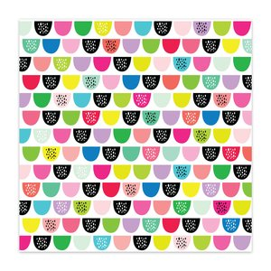 "Vellum 8x8"" Color Me Happy Sweet Drops"