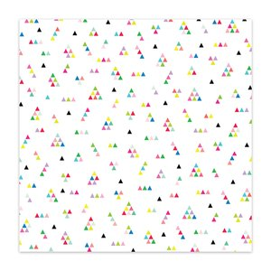 "Acetato 8x8"" Color Me Happy Oh So Geo"