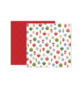 """Papel 12""""x12"""" Together for Christmas 11"""