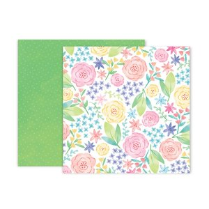 "Papel 12""x12"" Bloom Street 12"