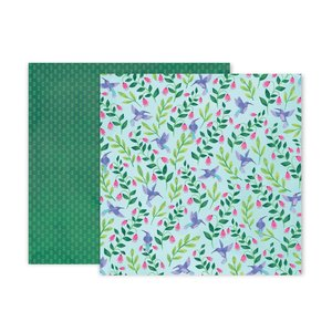 "Papel 12""x12"" Bloom Street 21"