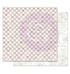 "Papel 12""x12"" Lavender Frost Hidden Truth"