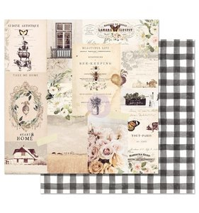 "Papel 12""x12"" Spring Farmhouse Beautiful Life"