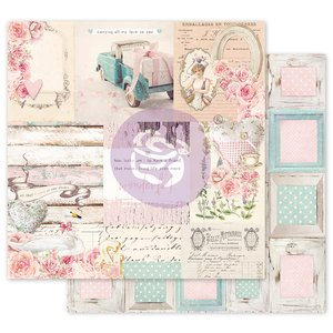 """Papel 12x12"""" col. With Love de Prima All That I Need"""
