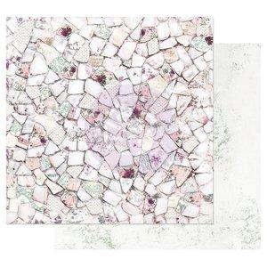 "Papel 12x12"" col. Pretty Mosaic de Prima Pretty Mosaic"