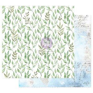 """Papel 12x12"""" col. Watercolor Floral de Prima Peaceful Bliss"""