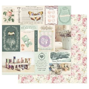 """Papel 12x12"""" col. My Sweet de Prima Shine Together"""