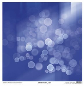 Vellum Bokeh Azul Colección 21 de Sweet Moma