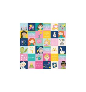 "Papel 12""x12"" Little Princess 2x2 Elements"