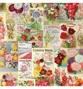 "Papel 12""x12"" Simple Vintage Botanicals Scatter Kindness"