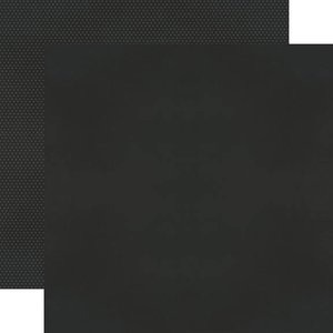 """Papel 12""""x12"""" Color Vibe Black"""