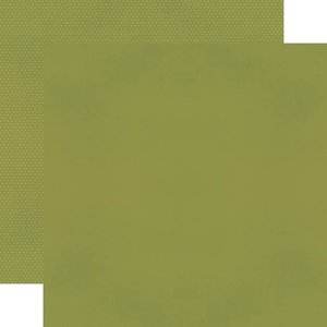 """Papel 12""""x12"""" Color Vibe Olive"""