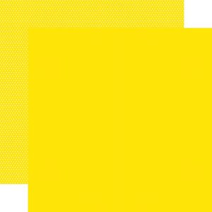 """Papel 12""""x12"""" Color Vibe Yellow"""