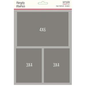 Plantilla para Layouts Simple Stories Design 2