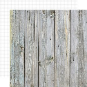 "Papel 12""x12"" Color Vibe Birch / White Grid"