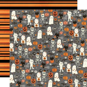 "Papel 12x12"" Simple Stories Boo Crew Our Little Spooks"