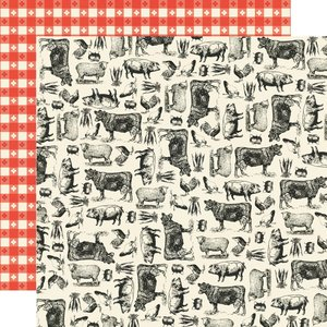 "Papel 12""x12"" Apron Strings Farm to Table"