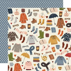 "Papel 12""x12"" Cozy Days Sweaters & Boots"