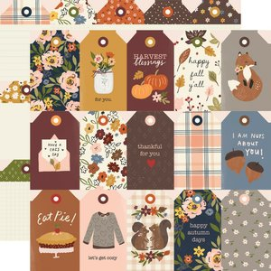 "Papel 12""x12"" Cozy Days Tags"