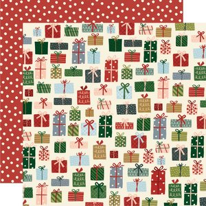 "Papel 12""x12"" Winter Cottage Season of Wonder"