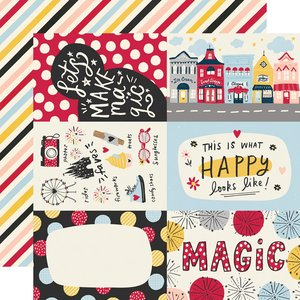 "Papel 12x12"" Say Cheese Main Street 4x6 Elements"