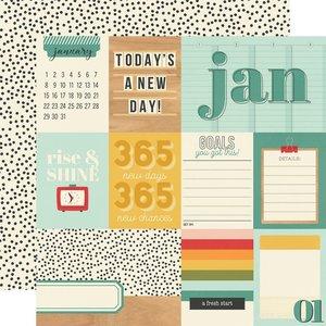 """Papel 12x12"""" Hello Today January"""