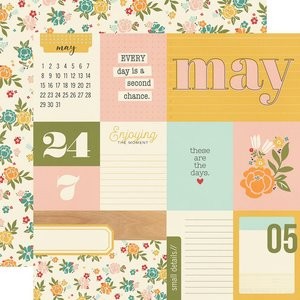 """Papel 12x12"""" Hello Today May"""