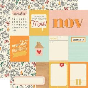 "Papel 12x12"" Hello Today November"