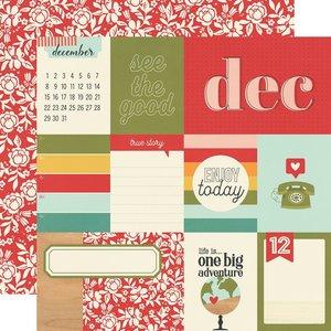 "Papel 12x12"" Hello Today December"
