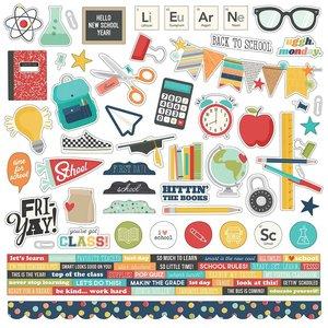"Pegatinas 12x12"" Simple Stories School Life"