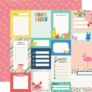 "Papel 12x12"" Sunkissed Journal Elements"
