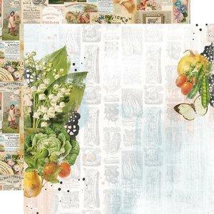 """Papel 12x12"""" Farmhouse Garden The Sweet Life"""