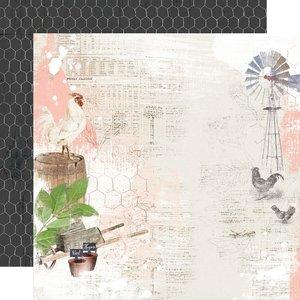 "Papel 12x12"" Farmhouse Garden Simple Things"