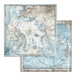 """Papel 12x12"""" Stampería Artic Antartic Artic"""