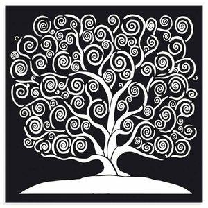 Máscara 30x30 cm Stampería Tree of Life