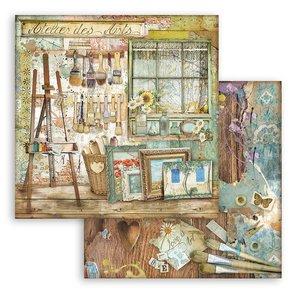 """Papel 12x12"""" Stampería Atelier des Arts Atelier"""