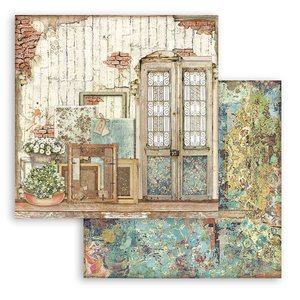 """Papel 12x12"""" Stampería Atelier des Arts Puerta"""