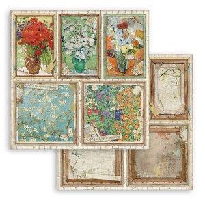 """Papel 12x12"""" Stampería Atelier des Arts Tarjetas"""