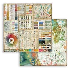 """Papel 12x12"""" Stampería Atelier des Arts Pantone"""