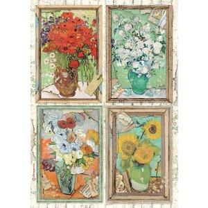 Papel de arroz A4 Stampería Atelier des Arts Van Gogh